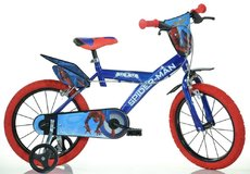 "DINO Bikes - Detský bicykel 16"" 163GSPH - Spiderman Home 2017"