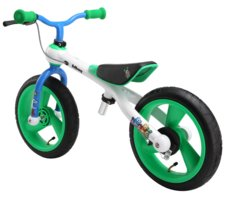 Odrážadlo JD Bug Training bike green-blue