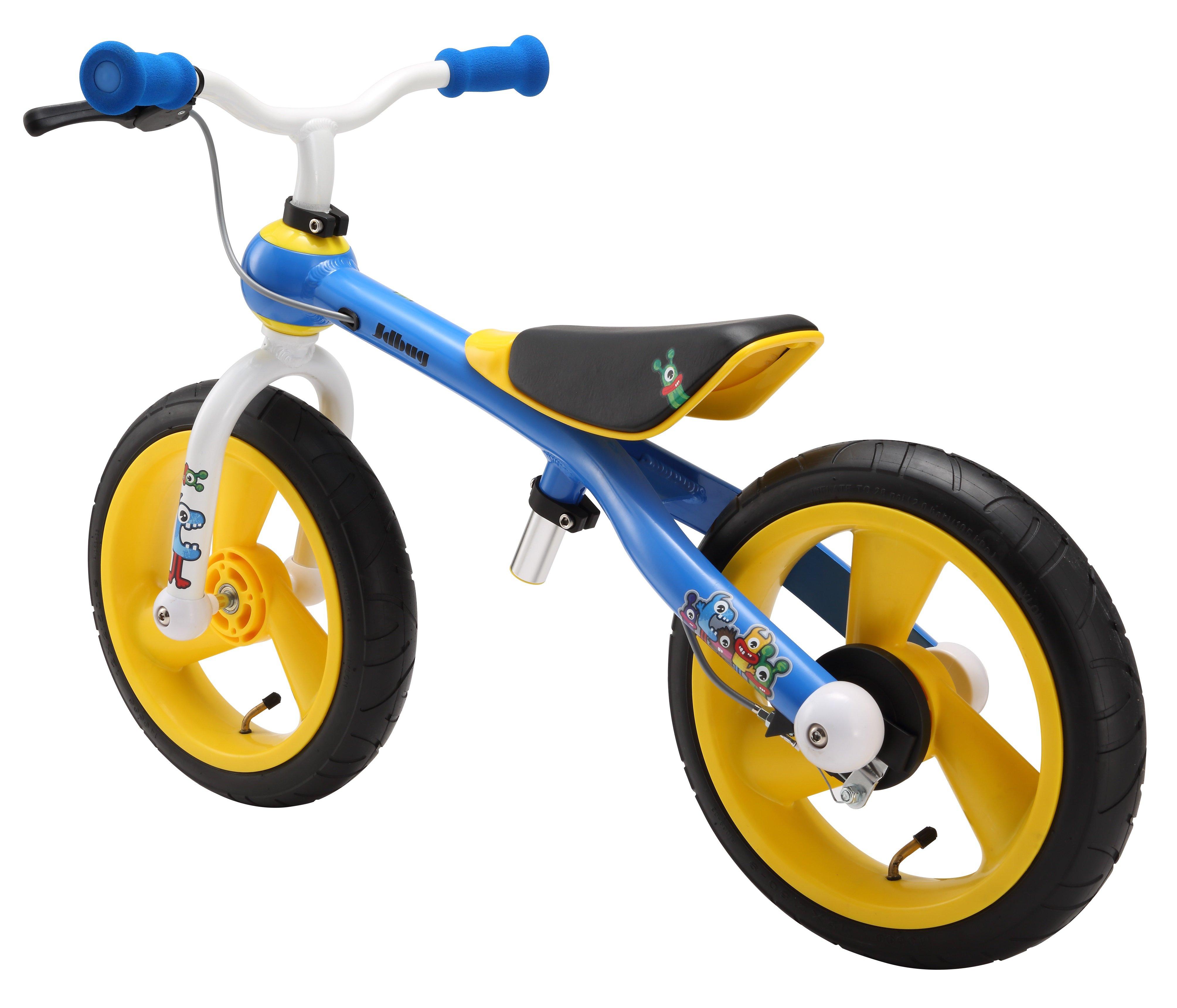74170031b Odrážadlo JD Bug Training bike blue-yellow | Odrazajsa.sk